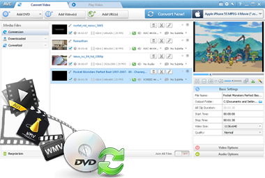 Professinal Video Converter and DVD Ripper