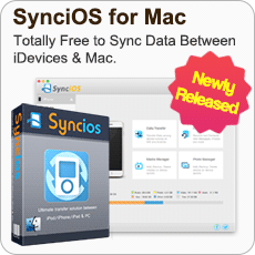 Newly Released Syncios for Mac